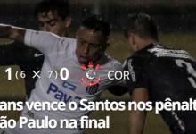 Photo of Corinthians vence o Santos nos pênaltis e pega o São Paulo na final