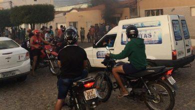 Photo of Televisão pega fogo dentro de mercadinho e causa incêndio, no centro de Boa Ventura