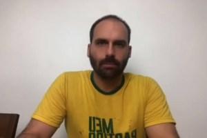 Photo of Filho de Bolsonaro endossa críticas a Julian Lemos