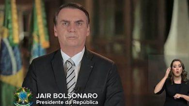 Photo of Em discurso de Natal, Bolsonaro diz que ano termina 'sem denúncias de corrupção'