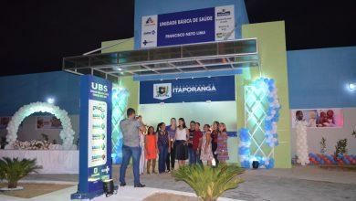 Photo of Prefeitura de Itaporanga inaugura nova Unidade Básica de Saúde da Família no Bairro Alto das Neves e entrega novo calçamento para aquela comunidade