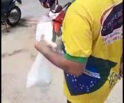 Photo of Sgt Moisés distribui máscaras para a população em Itaporanga contribuindo no combate ao coronavírus