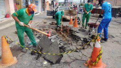Photo of Operação tapa-buracos é iniciada na cidade de Itaporanga