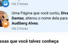 Photo of POLÊMICA: Página no facebook do prefeito de Itaporanga Divaldo Dantas é alterada pelo do pré-candidato a prefeito Audiberg Alves da  oposição