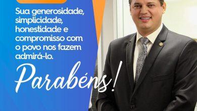 Photo of Parabéns Deputado Taciano Diniz