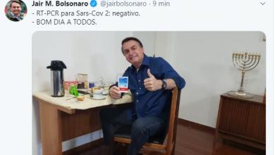 Photo of Bolsonaro testa negativo para Coronavírus em novo exame