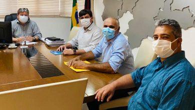 Photo of Governador João recebe deputado Taciano, prefeito Divaldo e o seu pré-candidato a vice Djacir Júnior e reassume compromisso para o projeto de reeleição
