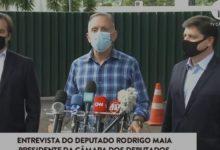 Photo of VÍDEO – Aguinaldo Ribeiro declina da candidatura à presidência da Câmara e confirma apoio a Baleia Rossi; veja nota