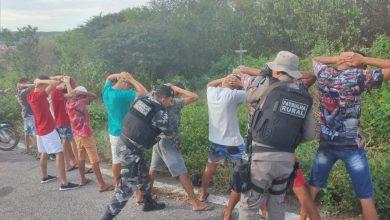 Photo of Polícia Militar apreende 17 motocicletas e acaba com 'rolezinho' no Sertão do Estado