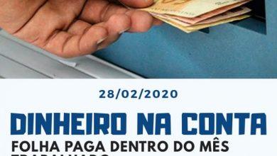 Photo of Prefeito Divaldo Dantas paga o mês de janeiro  nesta sexta-feira