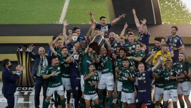 Photo of Palmeiras marca aos 54 do 2º tempo, vence Santos em final nervosa e é bicampeão da Libertadores; reveja o gol