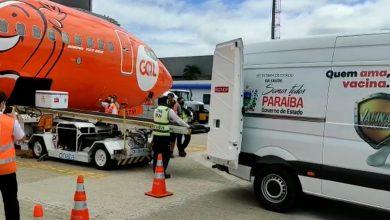 Photo of Avião com 2 milhões de doses da vacina de Oxford chega ao Brasil