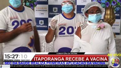 Photo of VÍDEO: Itaporanga recebe segunda remessa de vacina contra a Covid-19