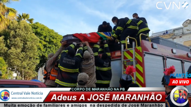 Photo of ASSISTA: Plantão TV CVN Muita emoção de familiares e amigos marca a despedida de José Maranhão