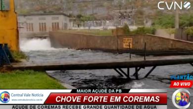 Photo of ASSISTA: Rio Piancó, tem sua primeira grande cheia do ano e o açude de Coremas recebe grande quantidade de água