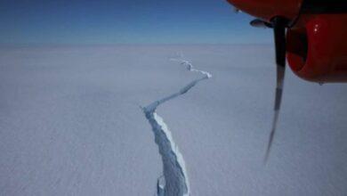 Photo of Iceberg do tamanho da cidade de São Paulo se desprende da Antártida