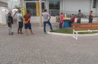 Photo of Em Piancó, vidraça do Banco do Brasil é quebrada a pedradas