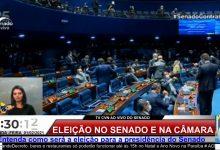 Photo of Com 57 votos, Rodrigo Pacheco, do DEM, é eleito novo presidente do Senado