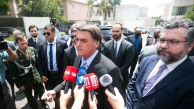 """Photo of Bolsonaro chama Doria de """"patife"""" e diz que governador quer quebrar o país"""