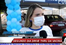 Photo of ASSISTA: Com 50% dos idosos acima de 80 anos vacinados, Itaporanga chega ao segundo dia do drive-thrus de vacina contra Covid-19
