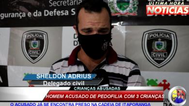 Photo of ASSISTA: Exclusivo delegado fala sobre prisão de homem por pedofilia contra   três  crianças em Itaporanga