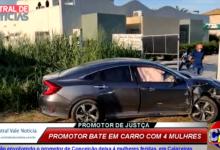 Photo of ASSISTA: Colisão envolvendo o promotor de Conceição deixa 4 mulheres feridas, em Cajazeiras
