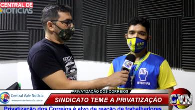 Photo of ASSISTA: Representantes dos trabalhadores dos correios da PB fala a TV CVN  sobre a intenção do governo privatizar a estatal