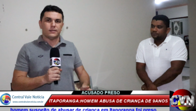 Photo of ASSISTA: Família relata momentos de terror do abusador de 69 anos contra criança de 9 em Itaporanga