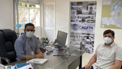 Photo of Deputado Taciano Diniz tem encontro com diretor da CAGEPA por melhorias em diversas cidades da PB