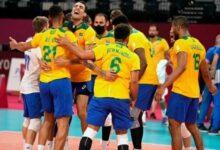 Photo of Brasil vence Argentina de virada no vôlei masculino em 2ª partida na Olimpíada de Tóquio