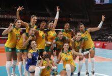 Photo of No vôlei, Brasil vence Quênia e pega o Comitê Russo nas quartas em Tóquio